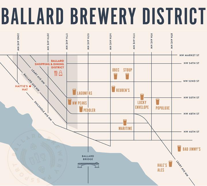 20 Top Things to Do in Seattle in 2020: Ballard Brewery Passport Program
