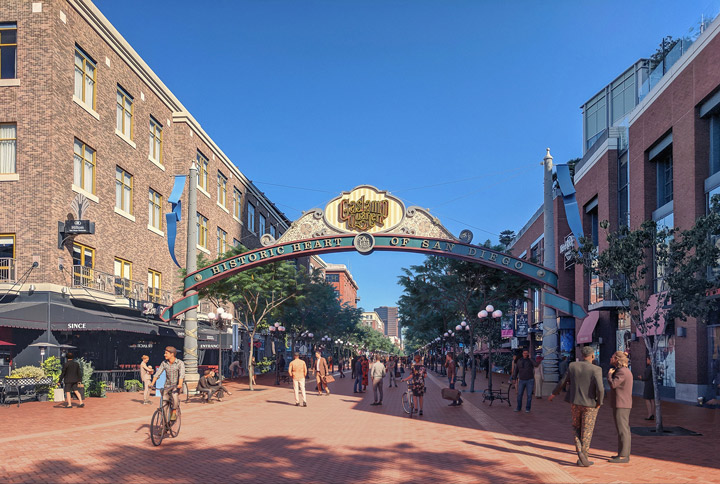 20 Top Things to Do in San Diego 2020 Gaslamp Quarter