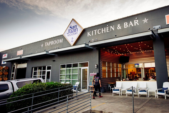 Where to Eat in Seattle: San Juan Seltzery Taproom, Kitchen & Bar