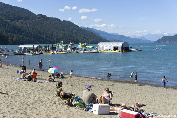 Get wet n wild at the water park (Harrison Hot Springs, BC)