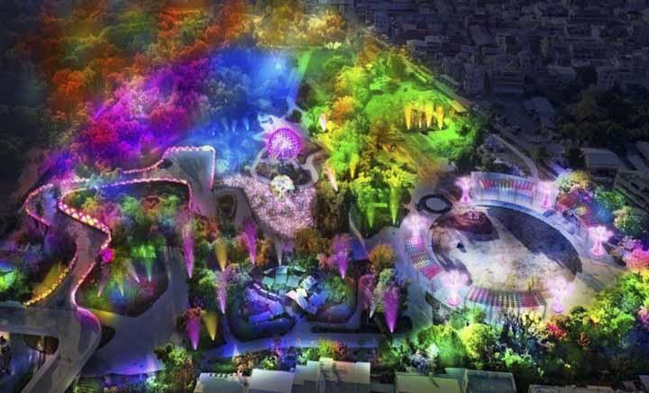 Lunar New Year Festivals in Taiwan 2020: Taiwan Lantern Festival in Taichung (Feb 9 - 23, 2020)