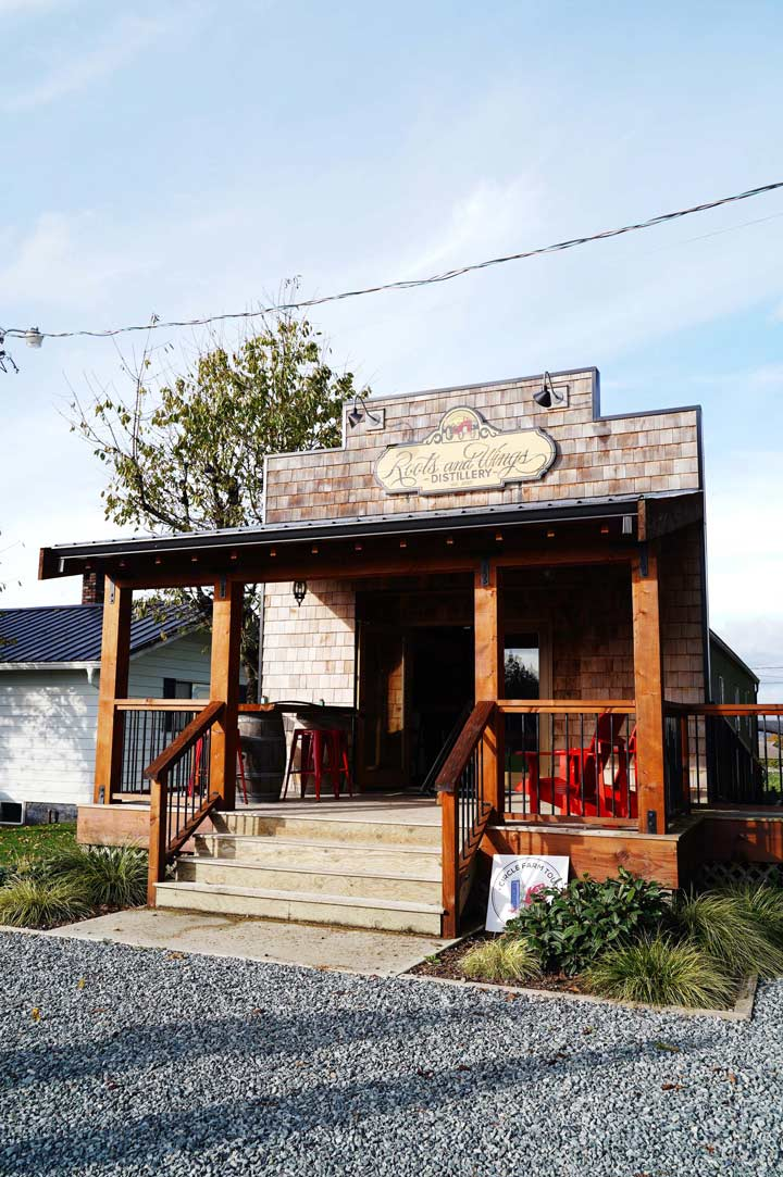 Romantic Getaway Ideas in the Fraser Valley:  Roots and Wings (Langley, BC)