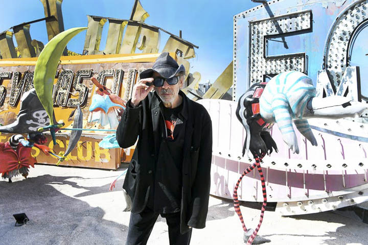 Top Things to Do in Las Vegas in 2020: Tim Burton Exhibit at Neon Museum