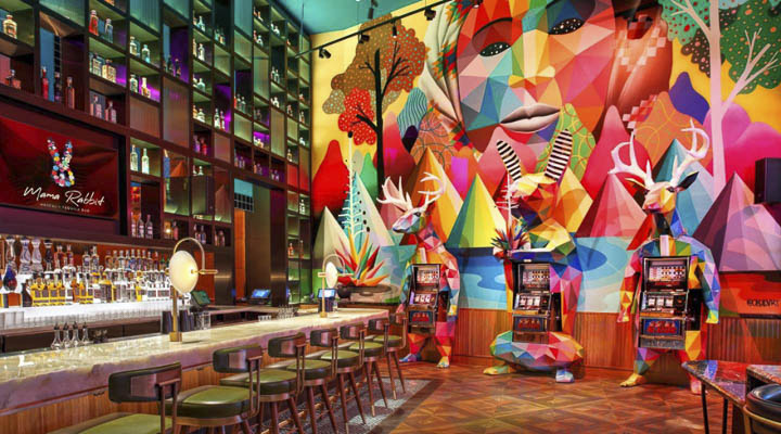 Where to Eat and Drink in Las Vegas in 2020: Mama Rabbit Bar at Park MGM