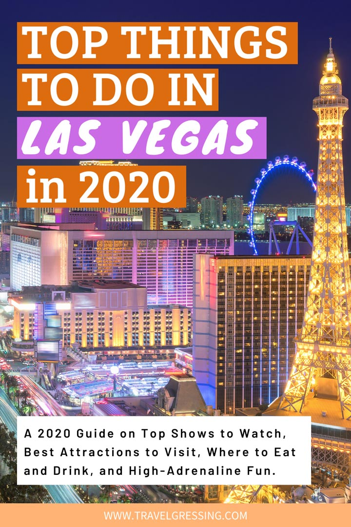 Top Things to Do in Las Vegas in 2020