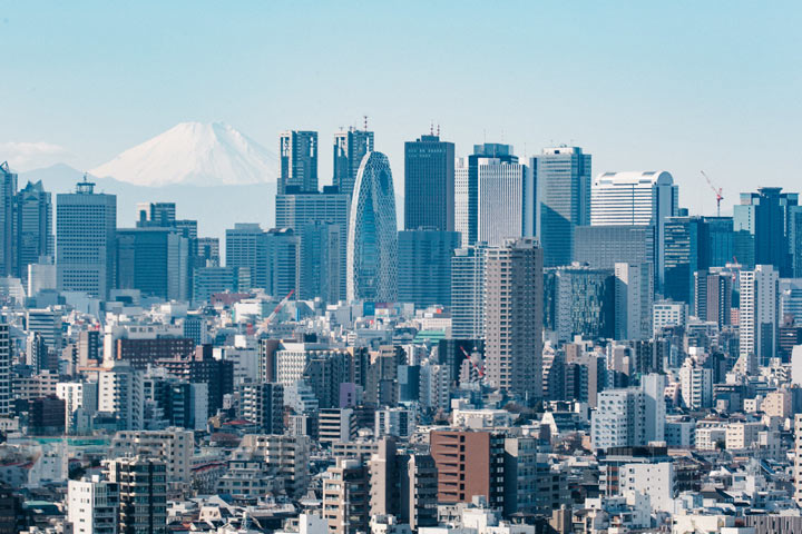 11 Best Places to View the Tokyo Skyline for Free: Bunkyo Civic Center (Bunkyo City)