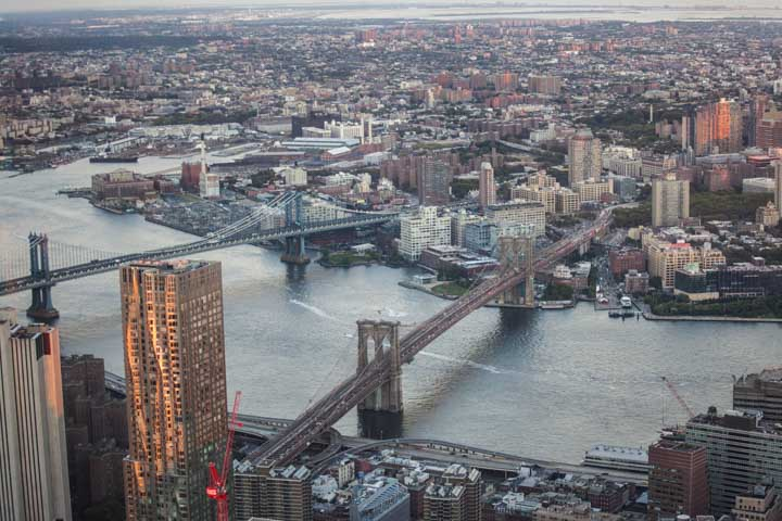 30 Ways to See New York City from Above | New York Skyline