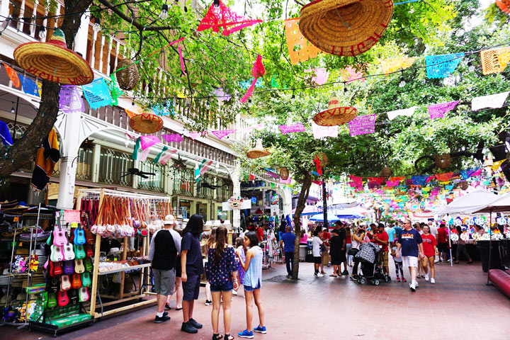 Things to do in San Antonio Texas: Enjoy the colorful sights of El Mercado (Market Square)