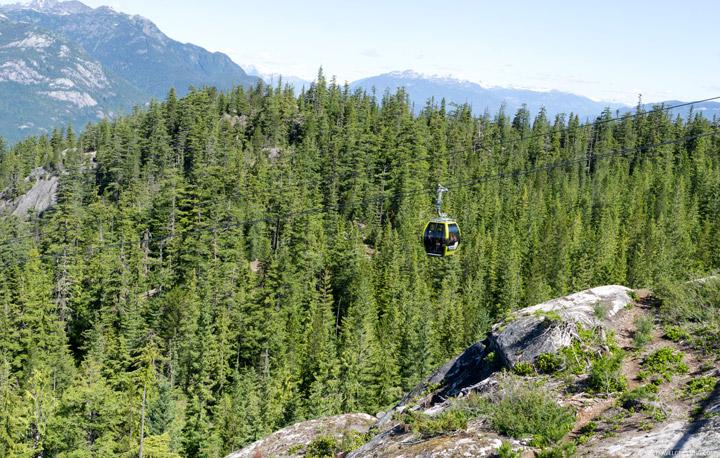 Sea to Sky Gondola: Canadian Bucket List Destination.  Vancouver Day Trip Idea