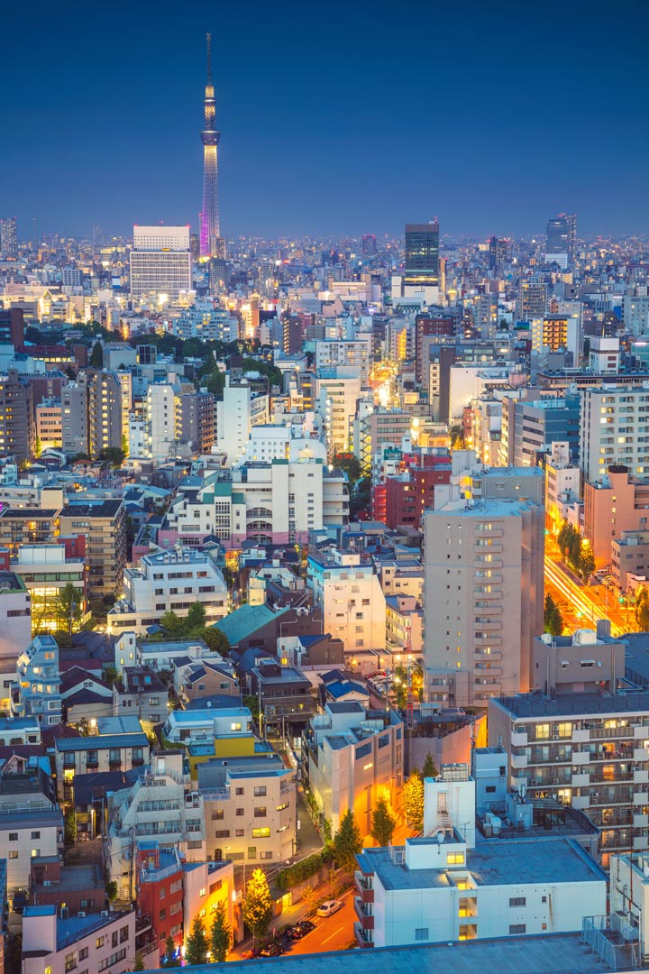 11 Best Places to View the Tokyo Skyline for Free