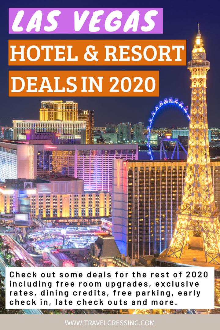 Las Vegas Hotel & Resort Deals 2020: Promo Codes, Exclusive Rates