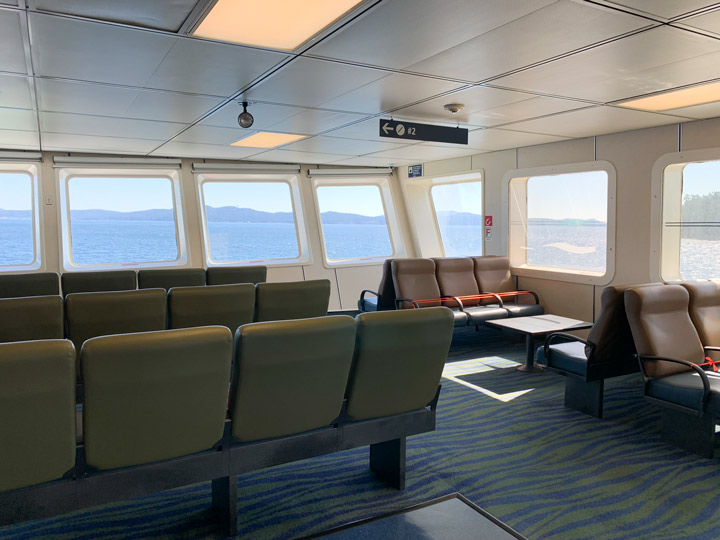 BC Ferries Trip Victoria to Galiano Island: What to Expect Interior