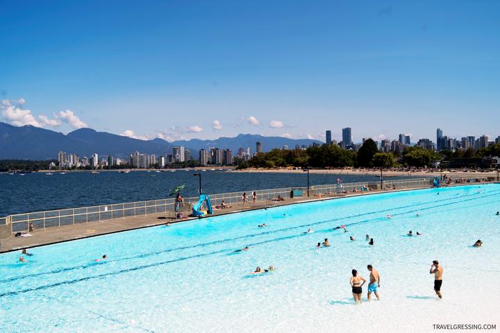 Kitsilano Pool in Vancouver