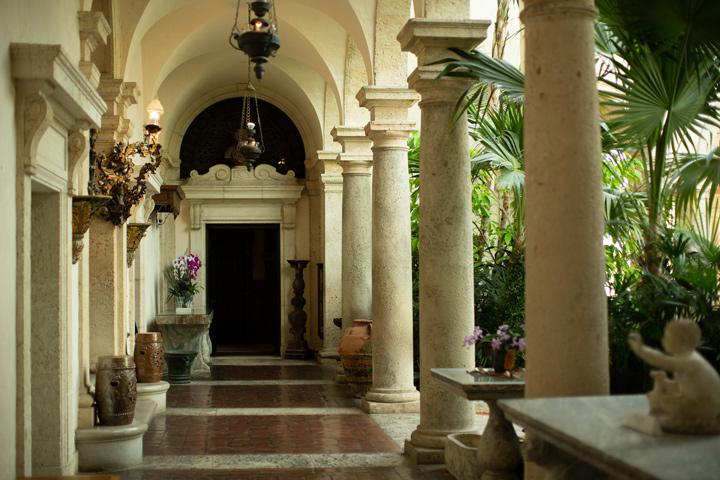Stroll through the spectacular Vizcaya Museum & Gardens