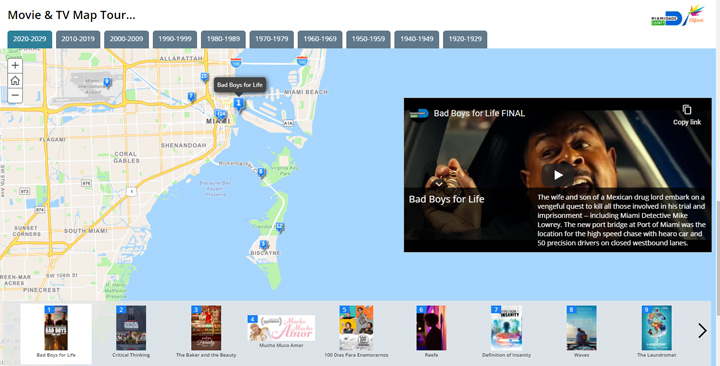 Go on a self-guided movie and tv location tour