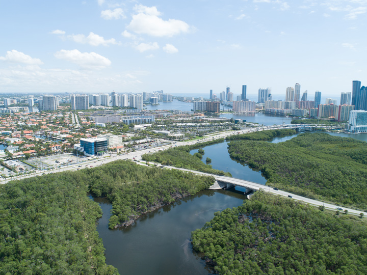 Relax in Florida's largest urban park, Oleta River State Park
