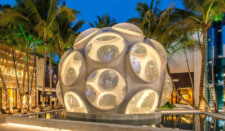 Experience the sleek, modern feel of the Miami Design District