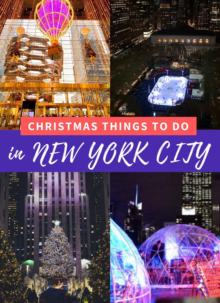 Christmas Things to Do New York City 2020