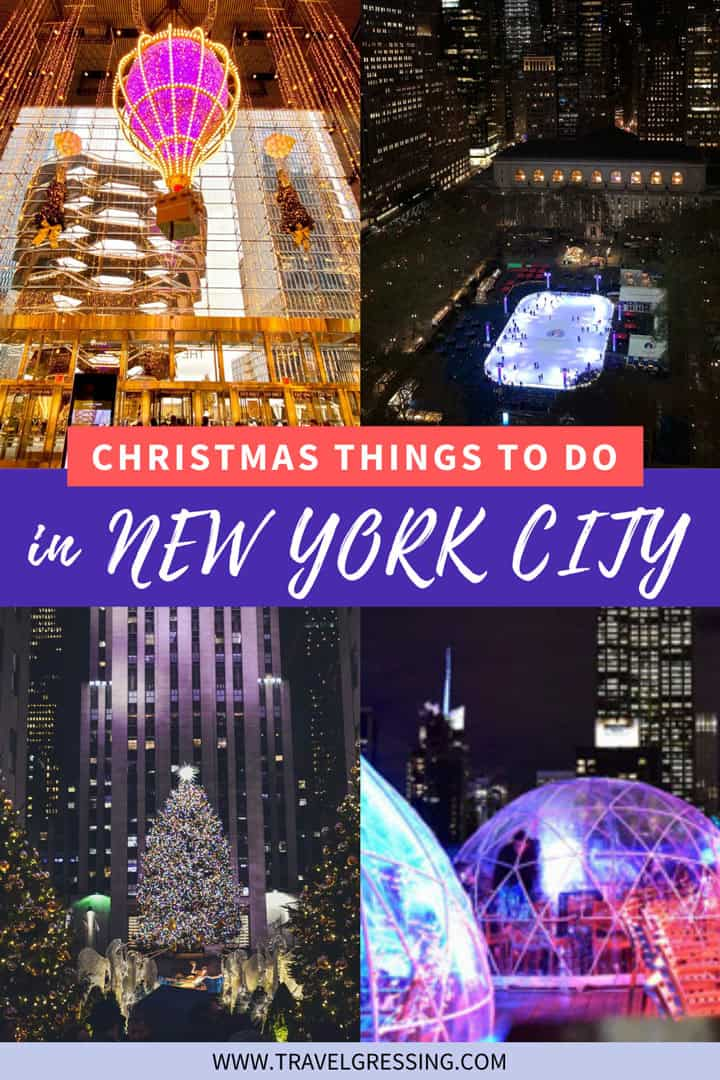 Christmas Things to Do New York City 2020