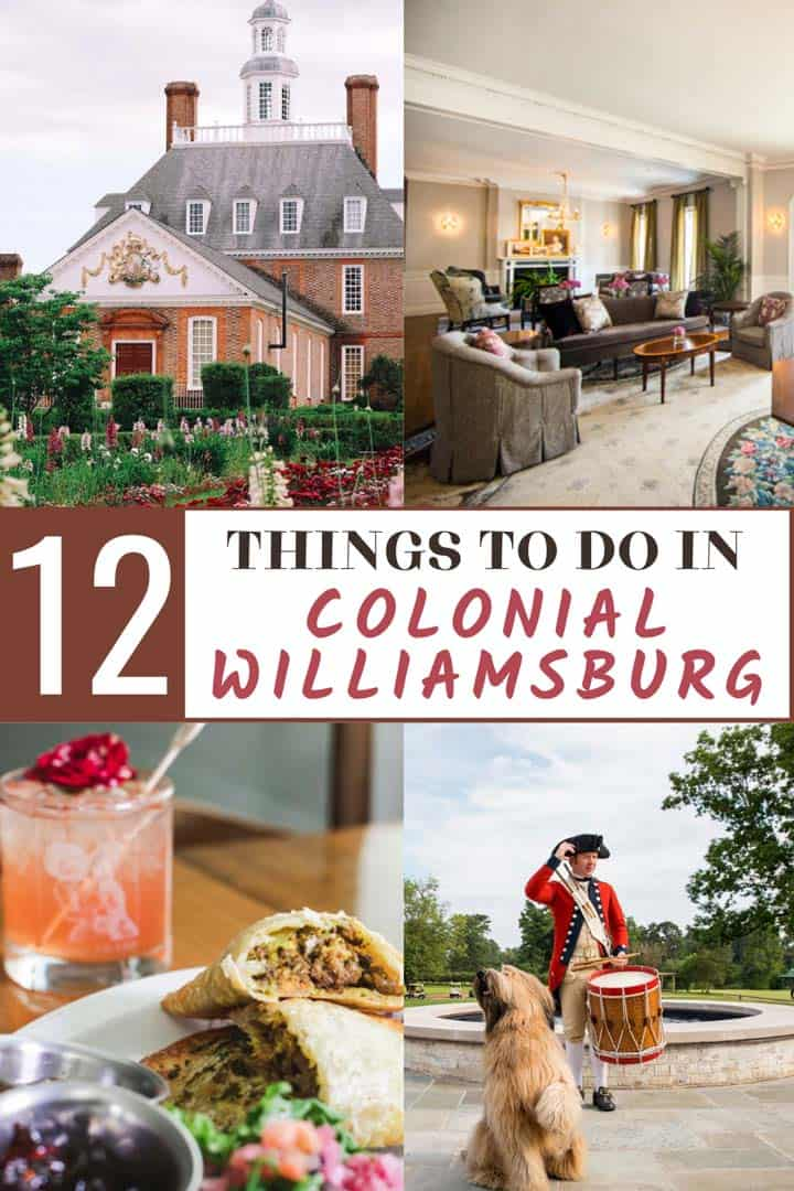 Top Things to do in Colonial Williamsburg, Virginia