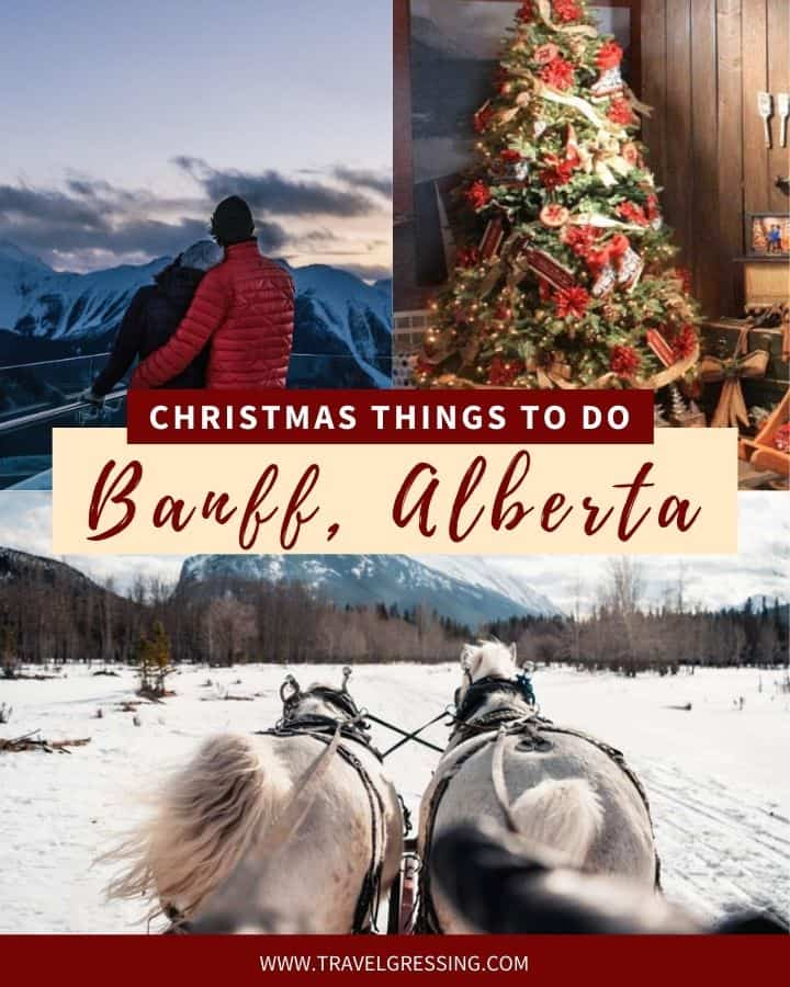 Christmas Things to do Banff 2020
