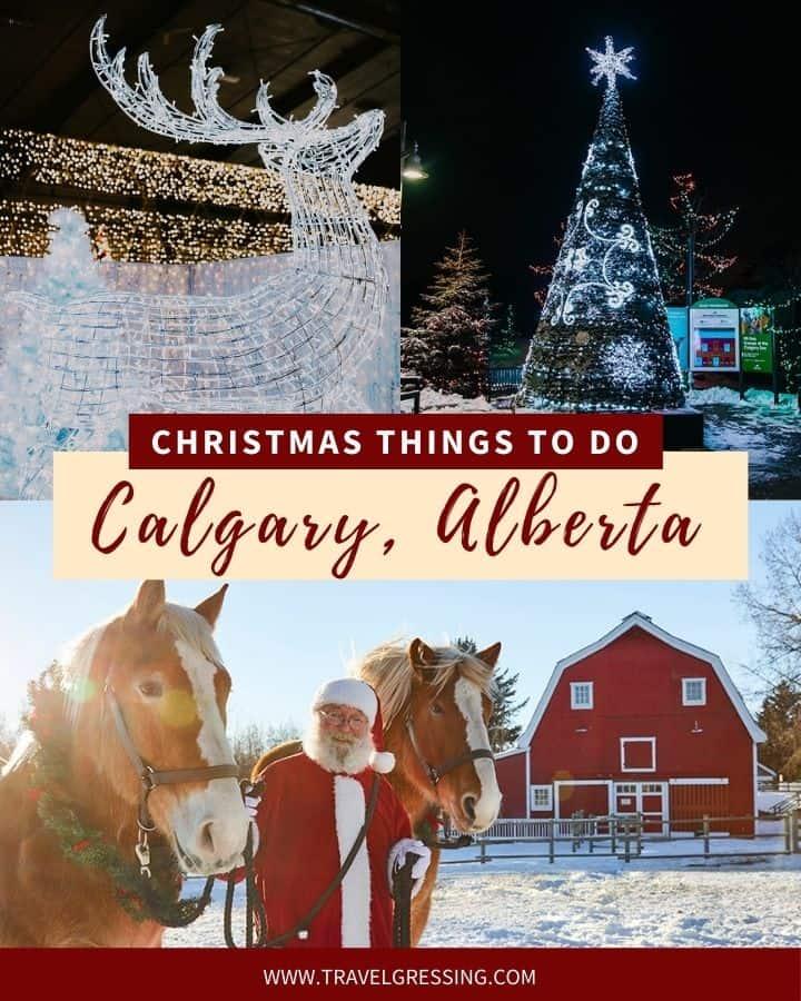 Christmas Things to do Calgary 2020