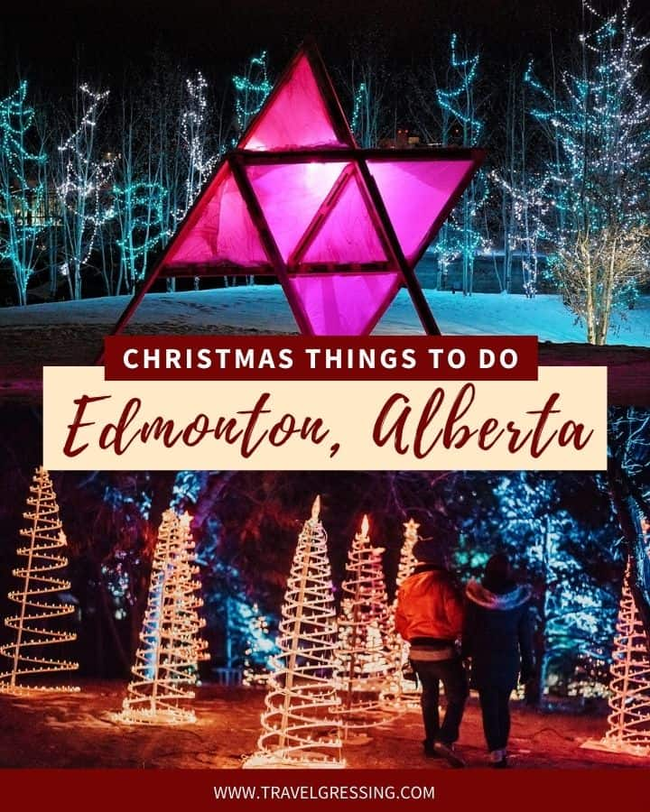 Christmas Things To Do in Edmonton 2020