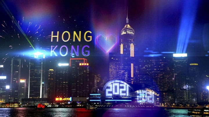 Hong Kong New Year's Eve 2020 2021: Where to Watch