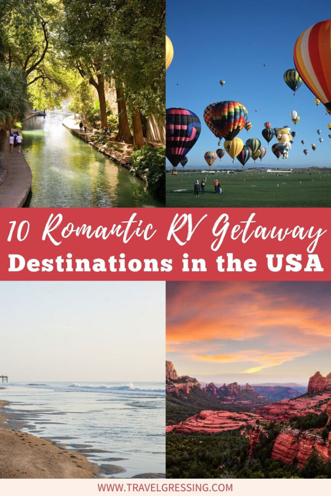 10 Romantic RV Getaway Destinations USA
