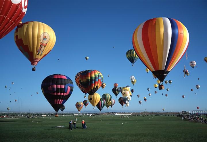 Albuquerque, NM Hot Air Balllons
