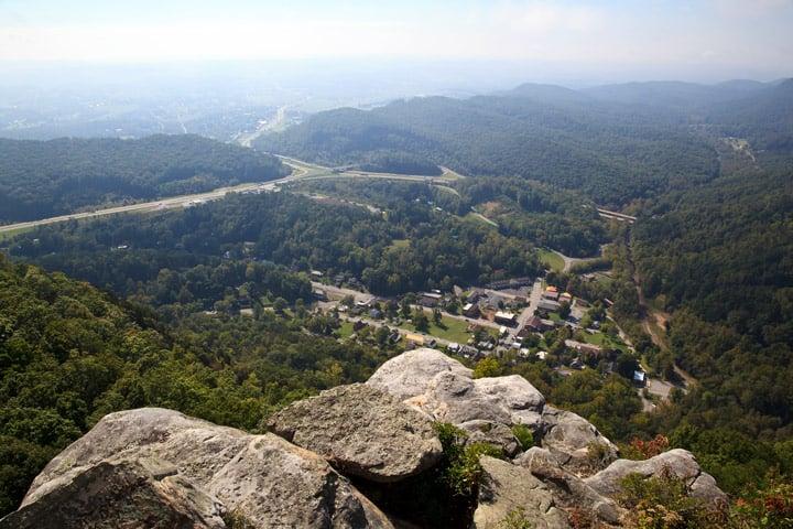 Cumberland Gap National Historical Park Pinnacle Overlook